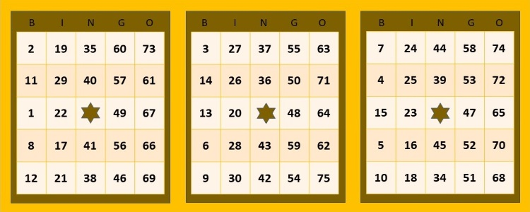 The 75-Ball Bingo Ticket