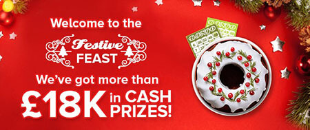 Win huge cash prizes at 888ladies Festive Feast promotion