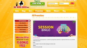 big bucks bingo promotions