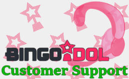 Bingo Idol's customer support