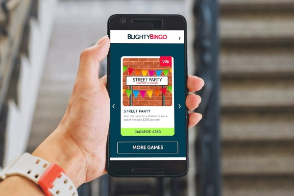 Blighty Bingo's mobile site
