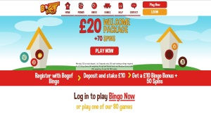 BOGOF Bingo is one of the best choices of a site to play online bingo