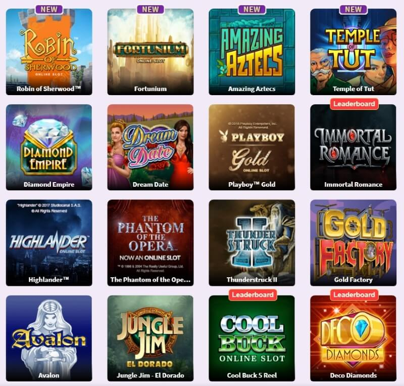 Butlers Bingo Games Optimised for Mobile