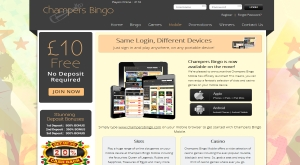 champers bingo mobile