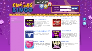 cheers bingo promotions