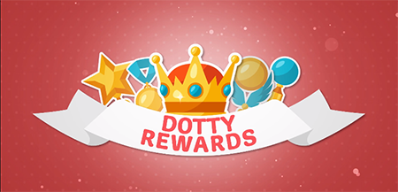 Rewards at Dotty Bingo