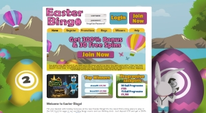 easter bingo registration