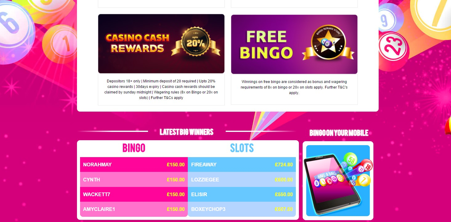 have a ball bingo promotions