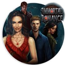 The Imortal Romance slot centres around paranormal characters