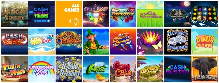 Kozmo Bingo Offers a Wide Selection of Slots