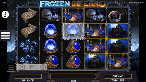 Kozmo Bingo Offers Frozen Inferno Slot