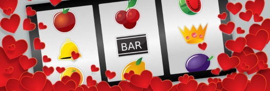 Love-themed slots for Valentine's Day