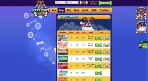 Playing Online Bingo at Lucky Puppy Bingo