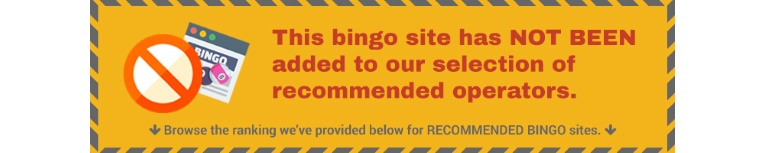 not verified bingo site