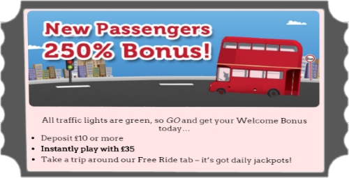 New Passengers Bingo Bonus at RedBus