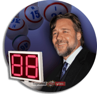 Russell Crowe Working as a Bingo Caller