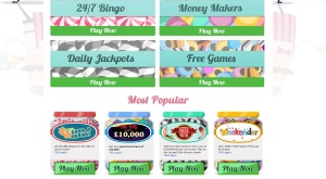 sweet shop bingo games