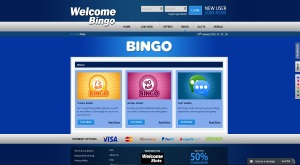 Welcome Bingo - free bingo games
