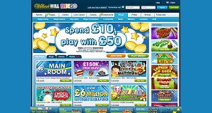 William Hill homepage